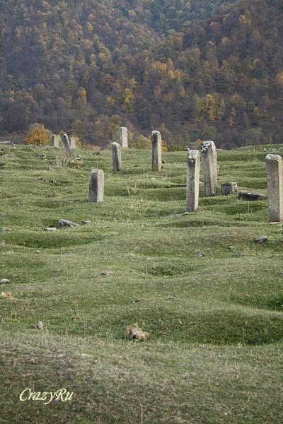 Тюркское кладбище в Армении / Фото из Армении