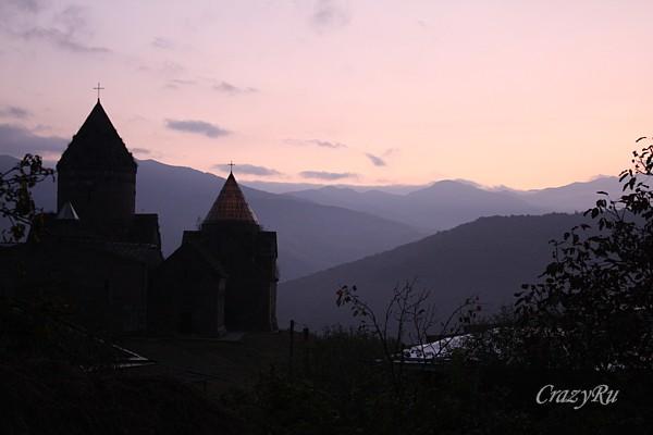Рассвет в горах над Гошаванком / Фото из Армении