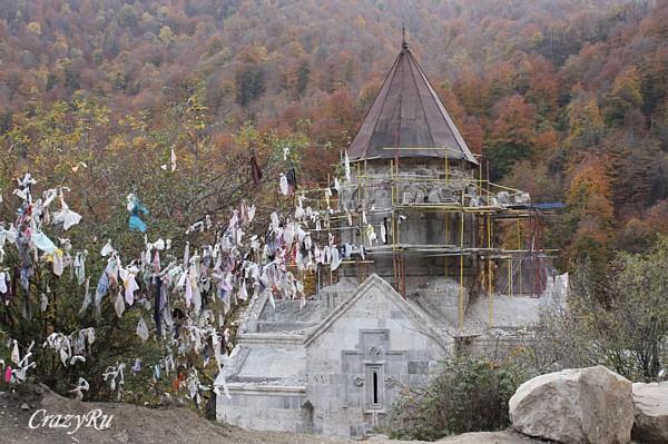 Монастырь в Агарцине / Фото из Армении