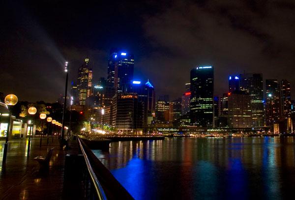 Ночной Сидней, Австралия / Фото из Австралии