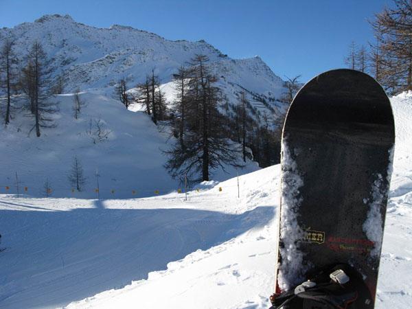В Курмайоре есть несколько вариантов спуска вне трасс / Фото из Италии
