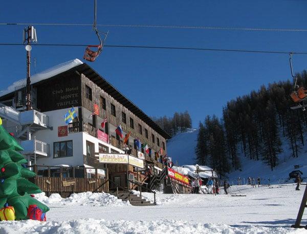 Высокогорная гостиница в Сестриере / Фото из Италии