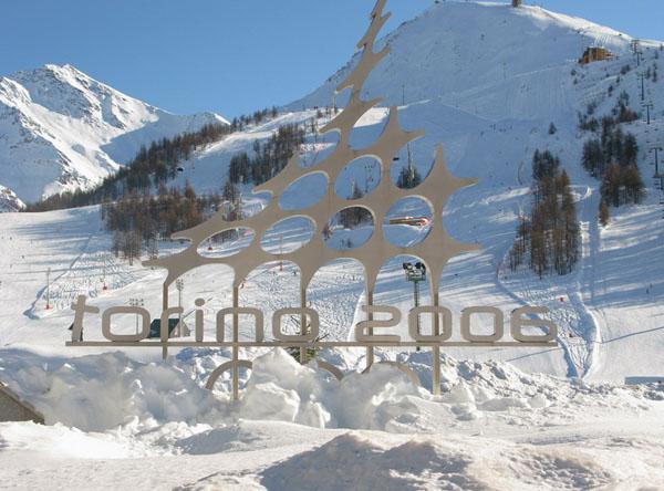 Сестриере - место проведения зимней Олимпиады 2006 года / Фото из Италии