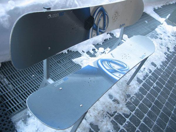 Сноубордические скамейки, Сестриере / Фото из Италии