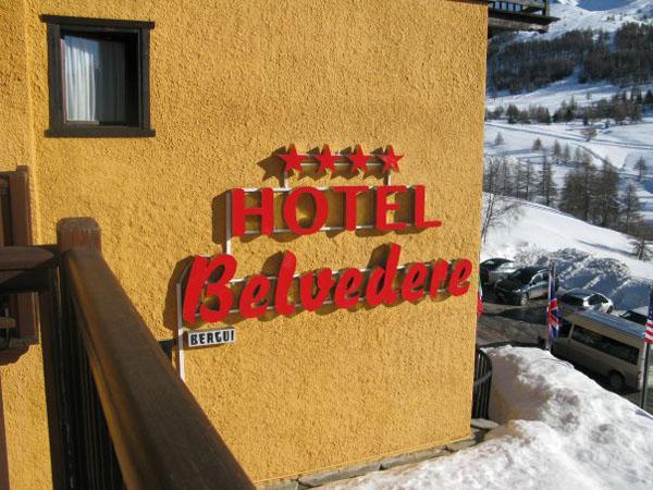 Отель Belvedere на курорте Сестриере / Фото из Италии