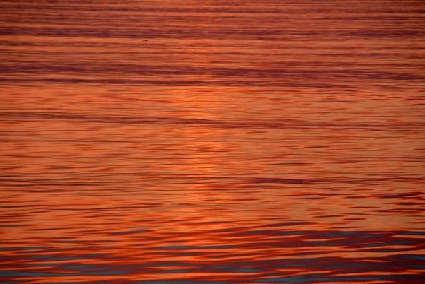 Закат у Командорских островов / Фото из России