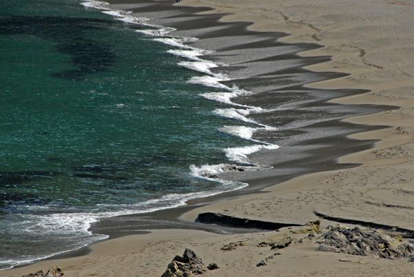 Песчаный пляж, полуостров Камчатка / Фото из России