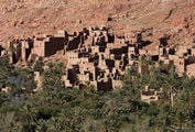 касбах - общее название укрепленных деревень в Северной Африке / Марокко