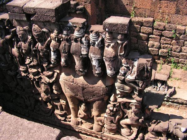 Королевская терраса, Ангкор-Том / Фото из Камбоджи