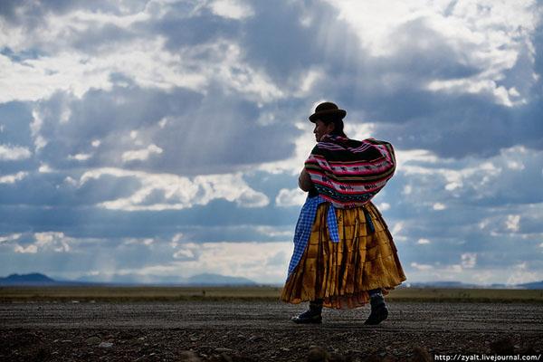 Так выглядят жительницы Боливии / Фото из Боливии