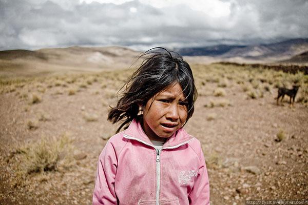 Девочка в Боливии / Фото из Боливии