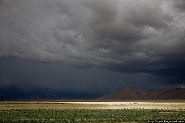 Декабрь в Боливии - сезон дождей / Фото из Боливии