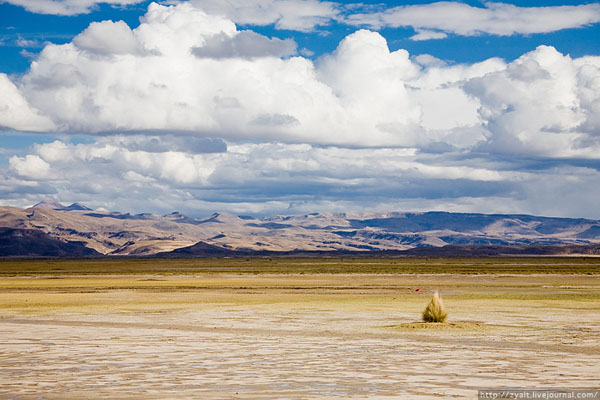 Боливийские ландшафты действительно впечатляют / Фото из Боливии