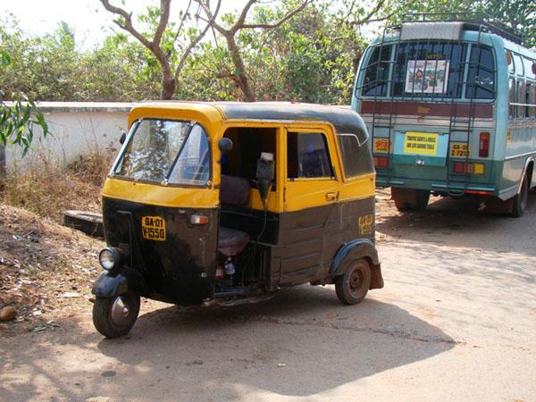 Мототакси, Индия / Фото из Индии