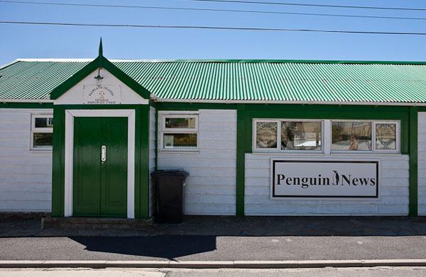 Редакция газеты в Порт-Стэнли / Фото с Фолклендских островов