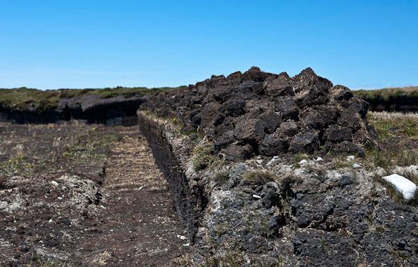 На Фолклендских островах дома топят торфом / Фото с Фолклендских островов