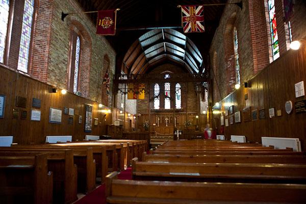 В протестантской церкви, Порт-Стэнли / Фото с Фолклендских островов