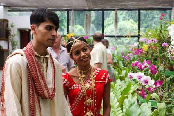 Молодожены в Перадении, Шри-Ланка / Фото со Шри-Ланки