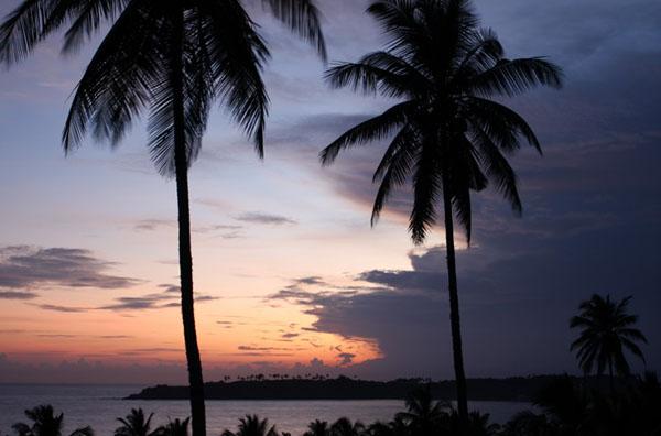 Закат в Тангалле, Шри-Ланка / Фото со Шри-Ланки