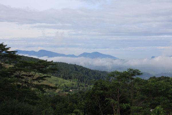 Облако над долиной, Шри-Ланка / Фото со Шри-Ланки
