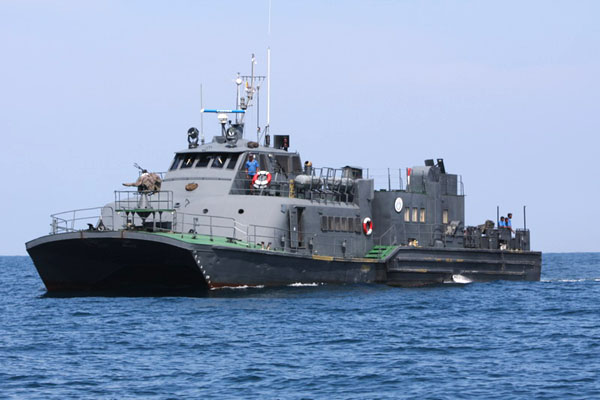 Корабль военно-морских сил Шри-Ланки / Фото со Шри-Ланки