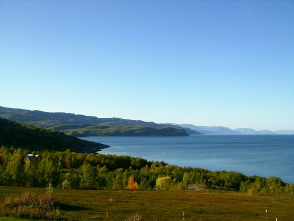 Алта-фьорд – один из самых протяженных фьордов Норвегии / Фото из Норвегии
