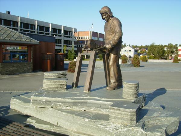 Памятник суровым жителям Севера, Алта / Фото из Норвегии