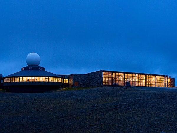 Самый северный туристический центр - на мысе Нордкап / Фото из Норвегии