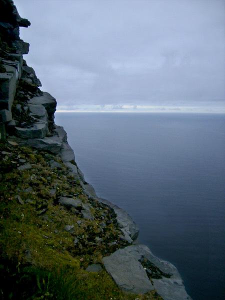 Далеко впереди – Северный Ледовитый океан / Фото из Норвегии