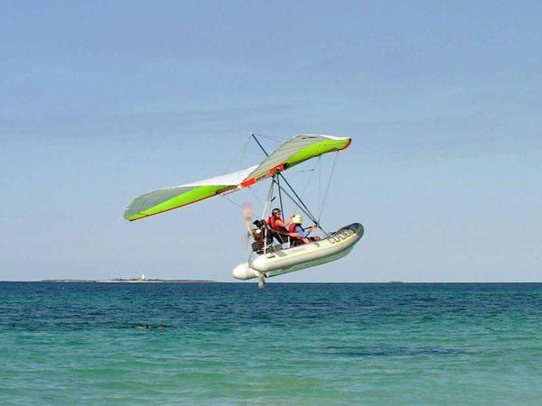 Дельтаплан над океаном, Варадеро / Фото с Кубы