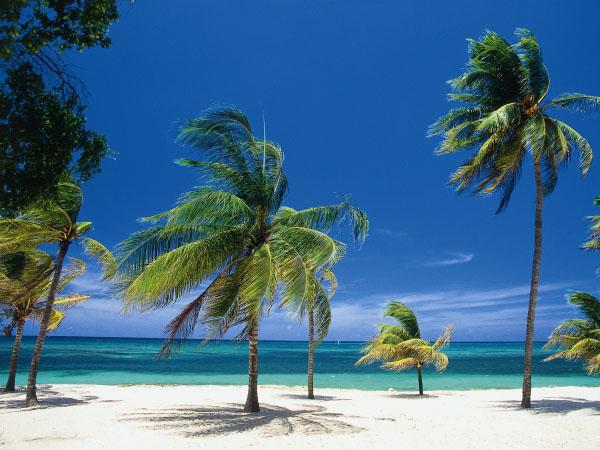 Живописный пляж Карабелас, Варадеро / Фото с Кубы