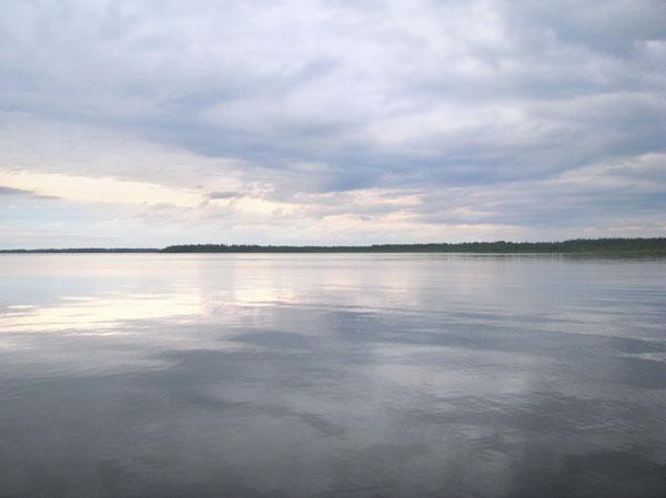 Гольф-поле Палтамо расположено на берегах озера Оулуярви / Фото из Финляндии