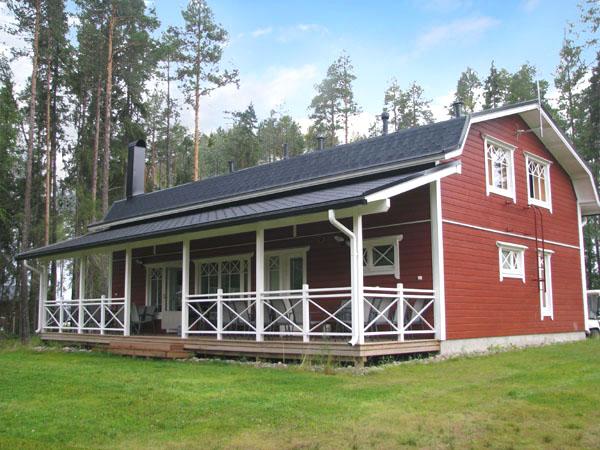 Один из просторных коттеджей в Палтамо / Фото из Финляндии