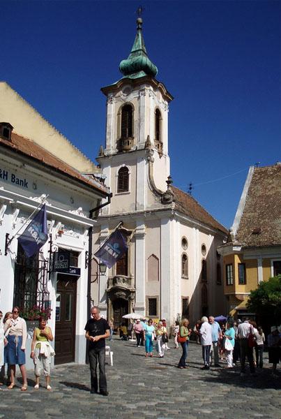 Сербская церковь в Сентендре / Фото из Венгрии