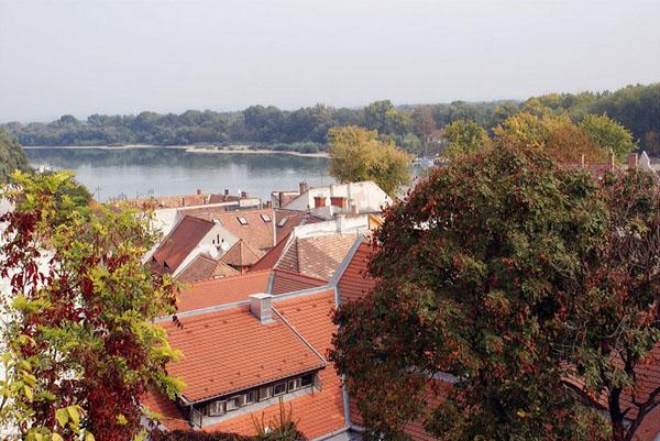 Вид на Сентендре и Дунай / Фото из Венгрии