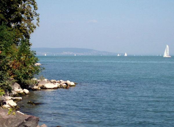 Озеро Балатон называют Венгерским морем / Фото из Венгрии