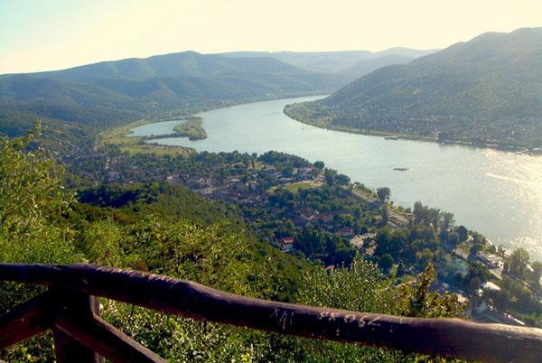 Живописная излучина Дуная, Венгрия / Фото из Венгрии