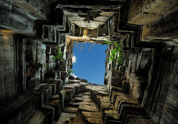 Живописная башня Пре-Кана, Камбоджа  / Фото из Камбоджи