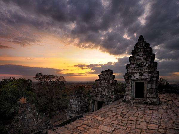 Закат в Ангкоре, Камбоджа / Фото из Камбоджи