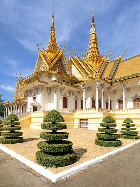 Тронный зал в Королевском дворце, Пномпень / Фото из Камбоджи