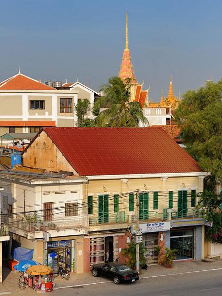 Пномпень - разноликая столица Камбоджи / Фото из Камбоджи