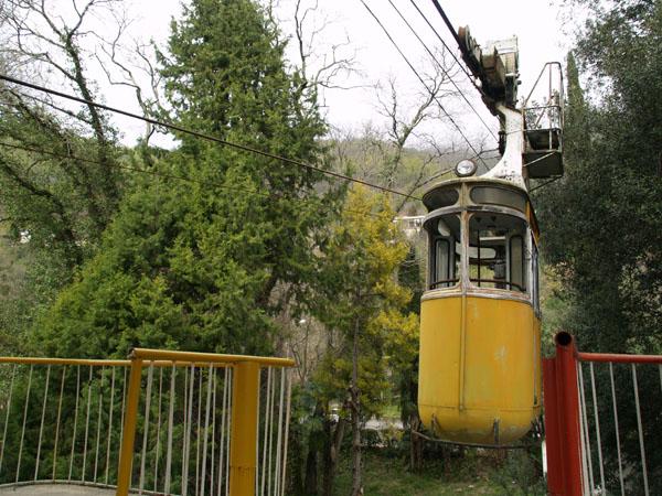 Канатная дорога в Гагре / Фото из Абхазии