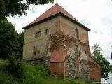 Полуостровной замок, башня / Литва