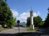 Столб со статуей св. Йонаса Непамукаса / Литва