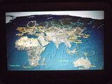 Полет на персональном мониторе / Сингапур
