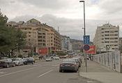Подгорица, улица Московская / Сербия
