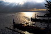 Лодки на закате / Филиппины
