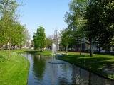 Уютные маленькие прудики-каналы Роттердама / Нидерланды