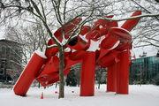 Скульптурная композиция / США
