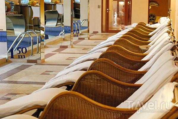 Бассейн в отеле Strimon Spa Club 5*, Кюстендил / Фото из Болгарии